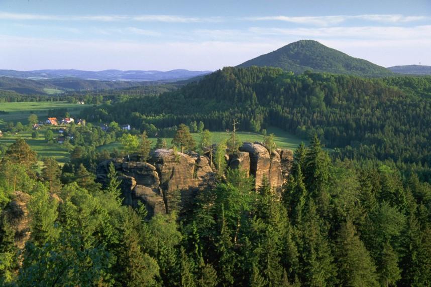 Гора Ружовский Врх  (Чехия)