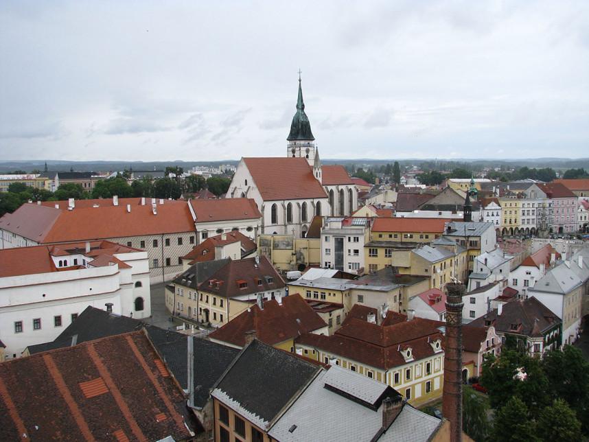 Вид на Йиндржихув-Градец