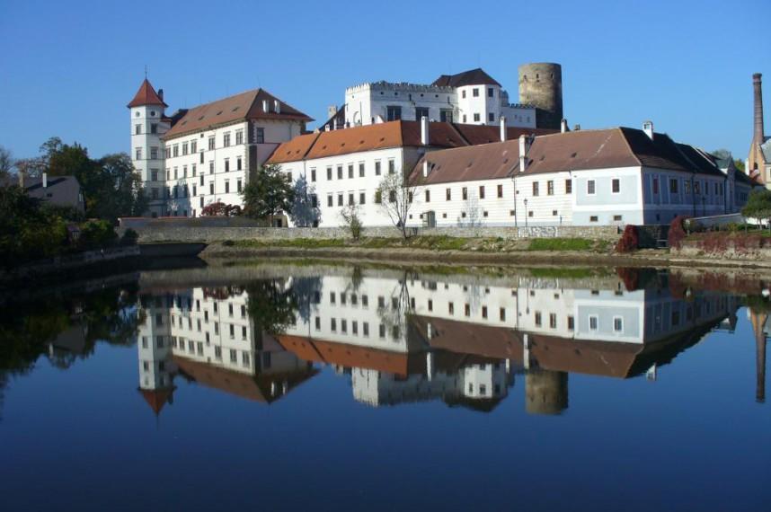 Замок в Йиндржихув-Градеце