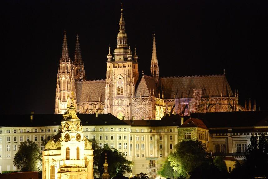 Вид на собор св.Витта