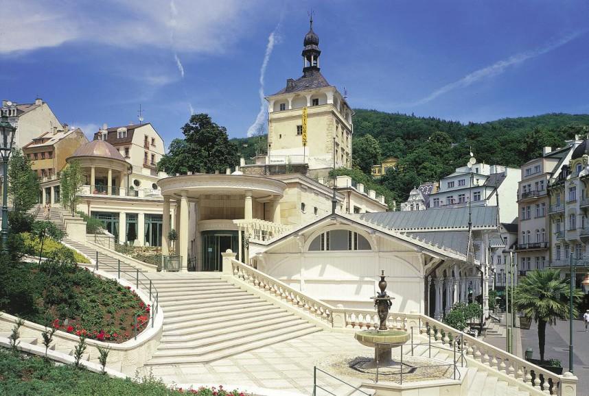 Курортный город в Чехии