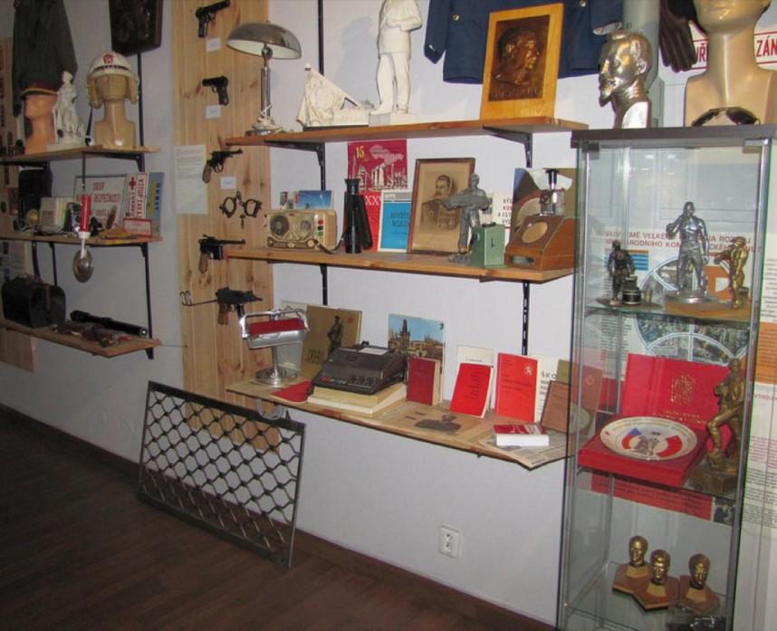 Музей КГБ внутри