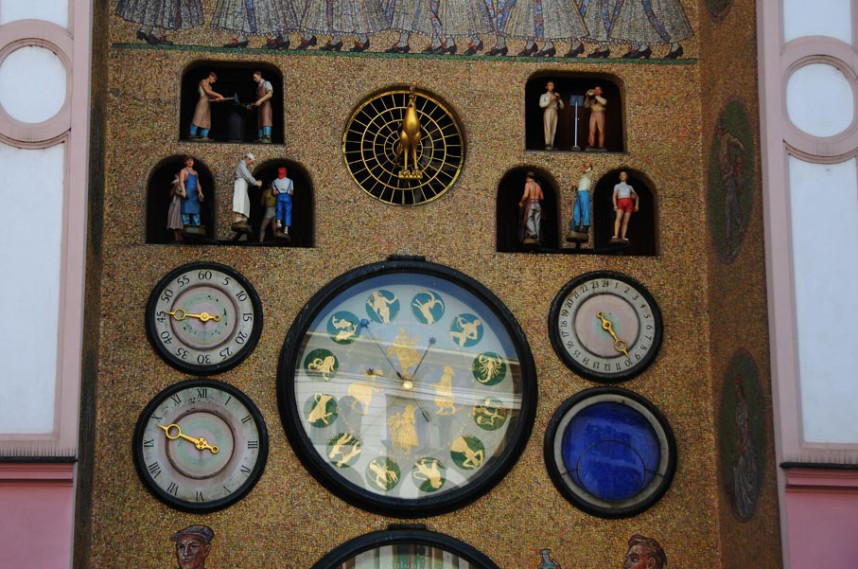 Астрономические часы в Оломоуце