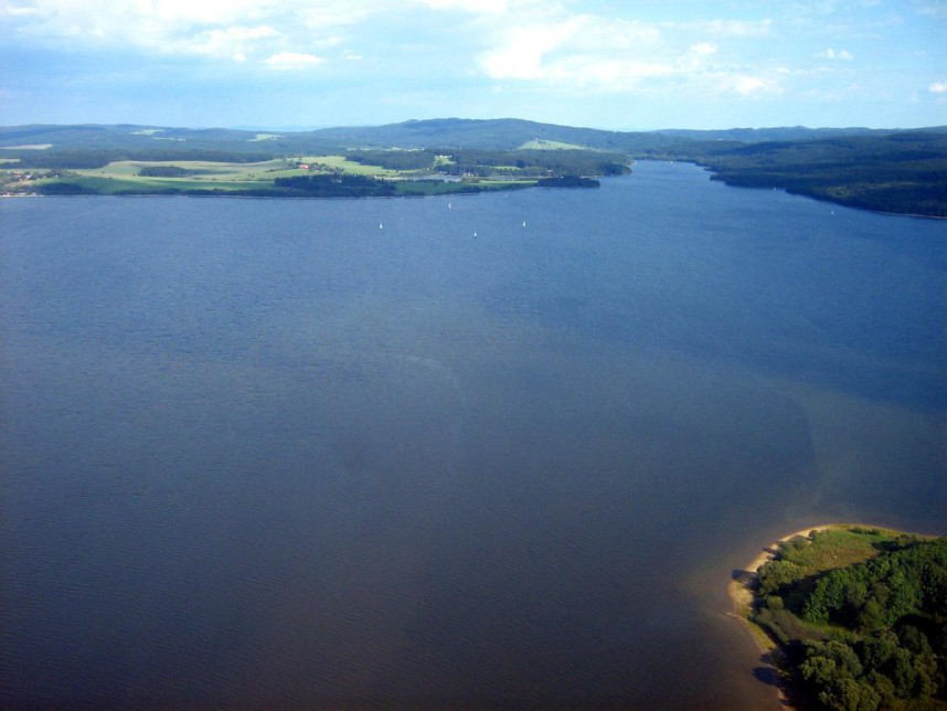 Вид на озеро Липно