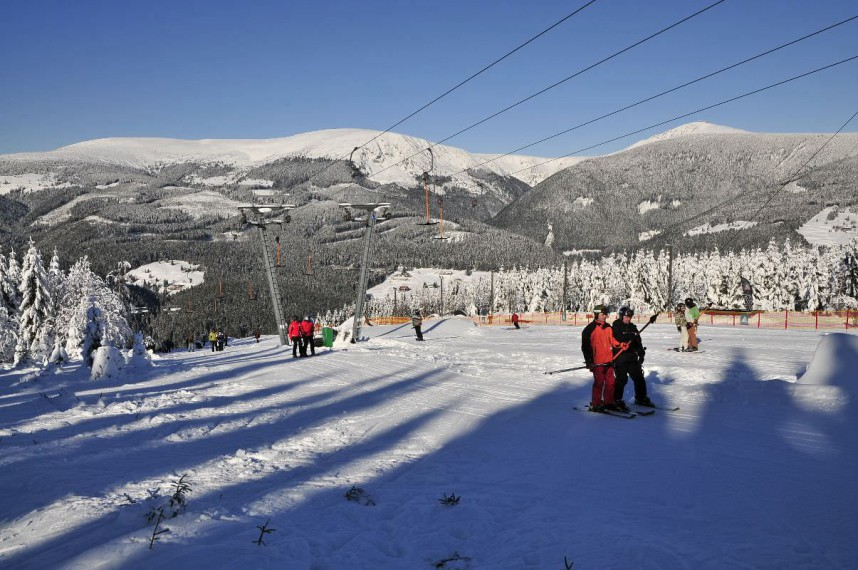 Горнолыжный курорт Пец-под-Снежкой