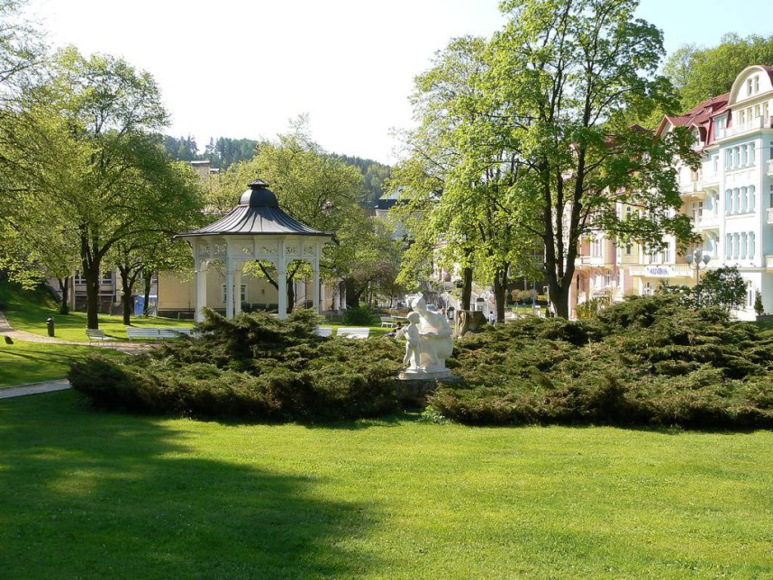 Парк в Яхимове