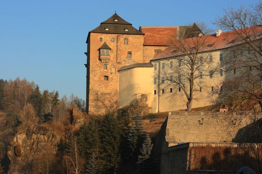 Вид на замок Бечов-над-Теплоу