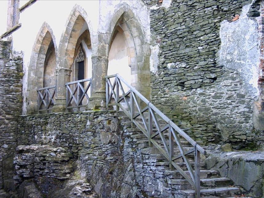 Замок Бездез внутри