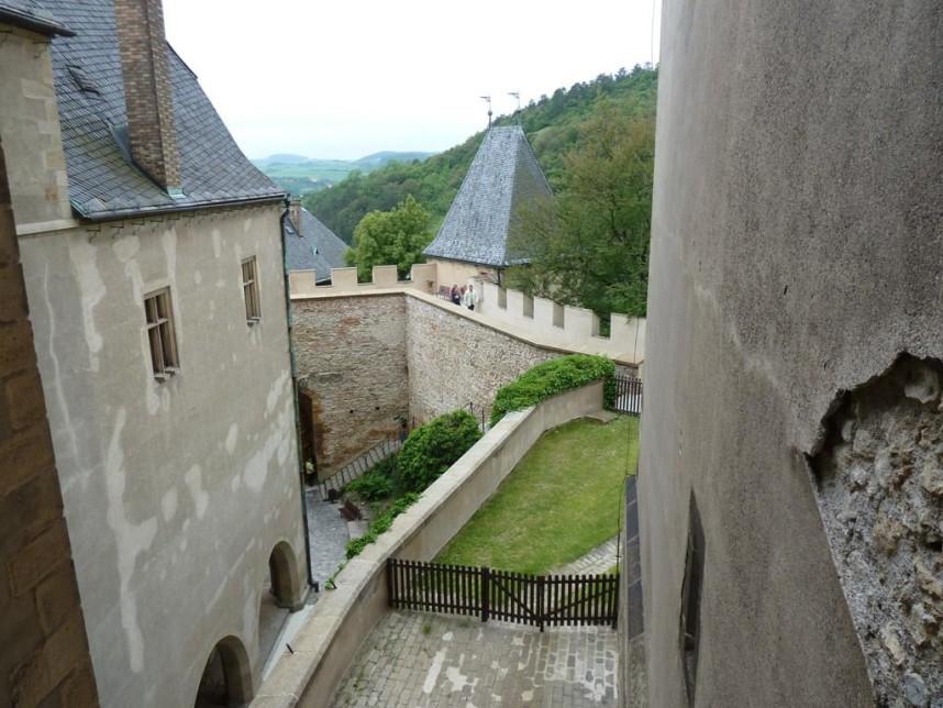 Замок Карлштейн внутри