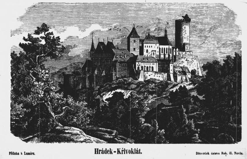 Замок Кршивоклат история