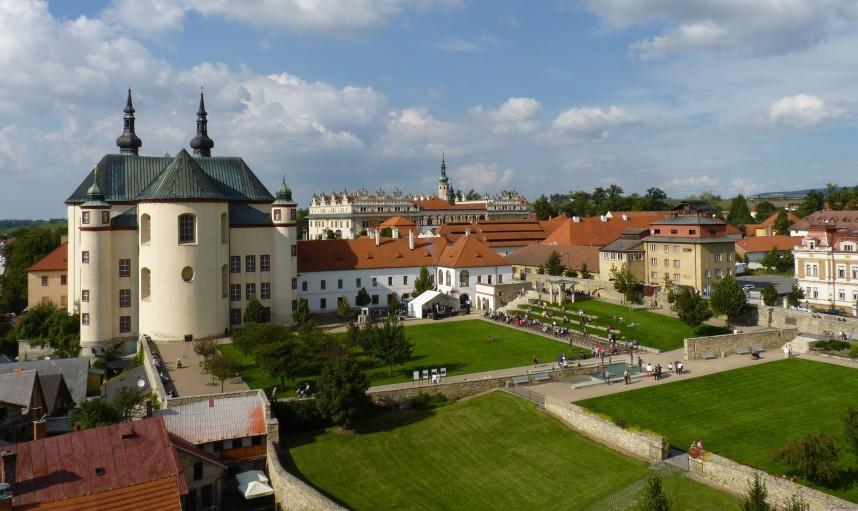 Вид на Замок Литомышль