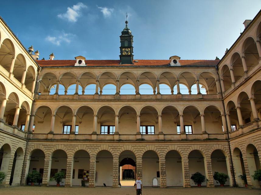 В Замке Литомышль
