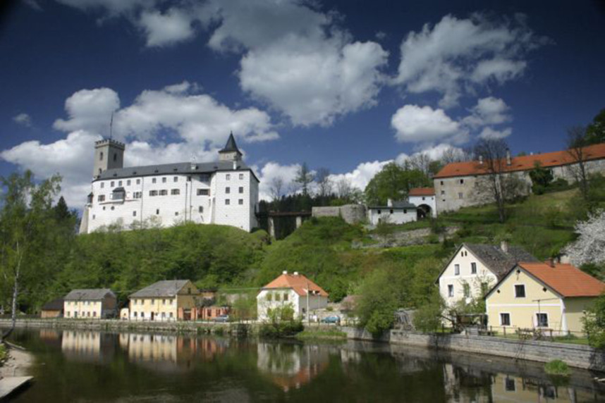 Вид на Замок Розенберг