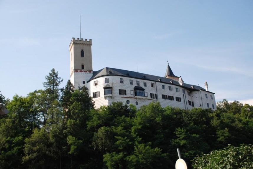 Замок Розенберг в Чехии