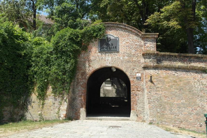 Ворота в замок