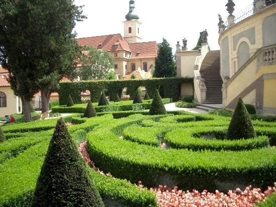 Парки и сады Праги