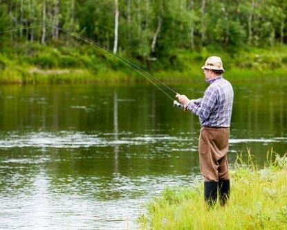 Рыбалка – настоящий отпуск для мужчины