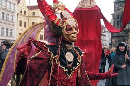 В Праге открывается сезон карнавалов