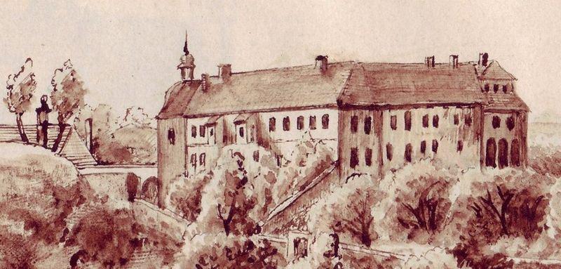 История замка Шкворец