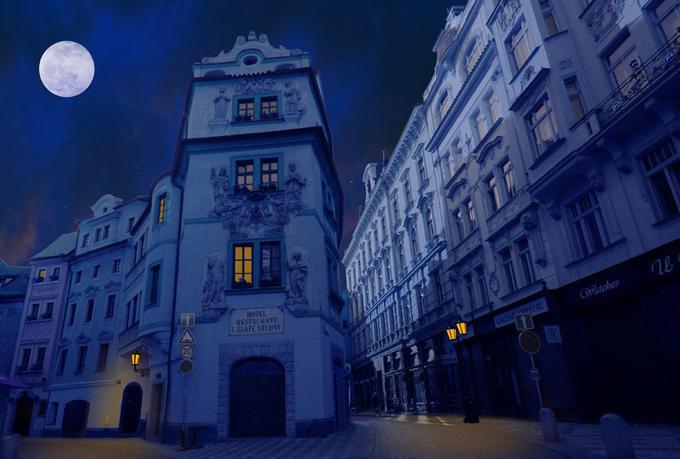 Чехия: охота на привидений