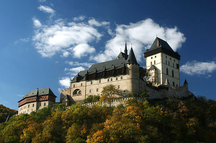Замок Карлштейн: история