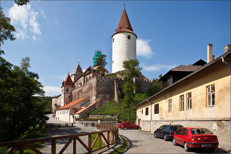 Замок Кршивоклат, Чехия
