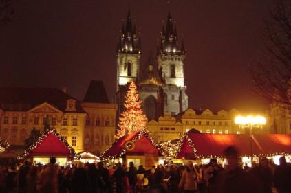 Рождество в Праге: каждому – по тарелке рыбного супа!