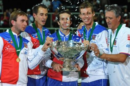 Чехия завоевала Кубок Дэвиса. Впервые за 30 лет