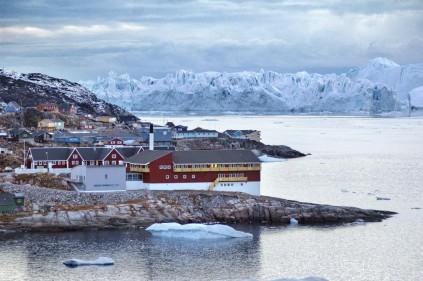 Гренландия – снежная страна с «зеленым» названием