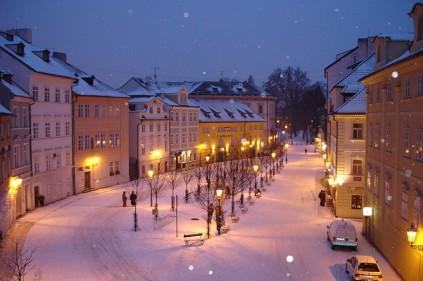 В Чехии зиму не любят