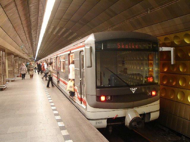 Прага, метро