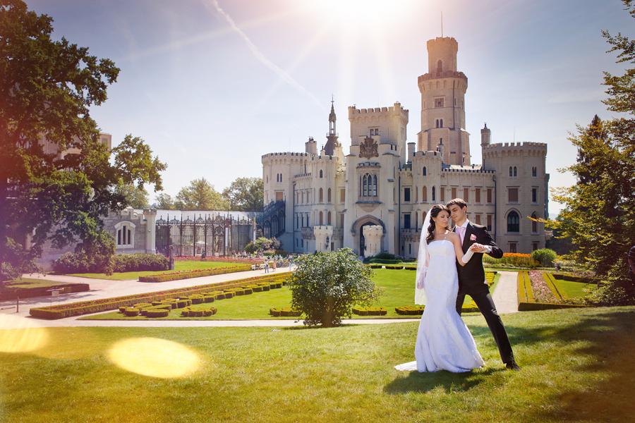 Portugal castle wedding