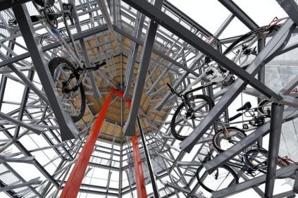 В Чехии появилась велосипедная башня