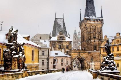 Отдых в февральской Чехии