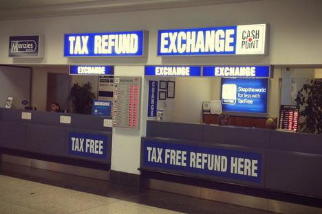 Tax free в Праге