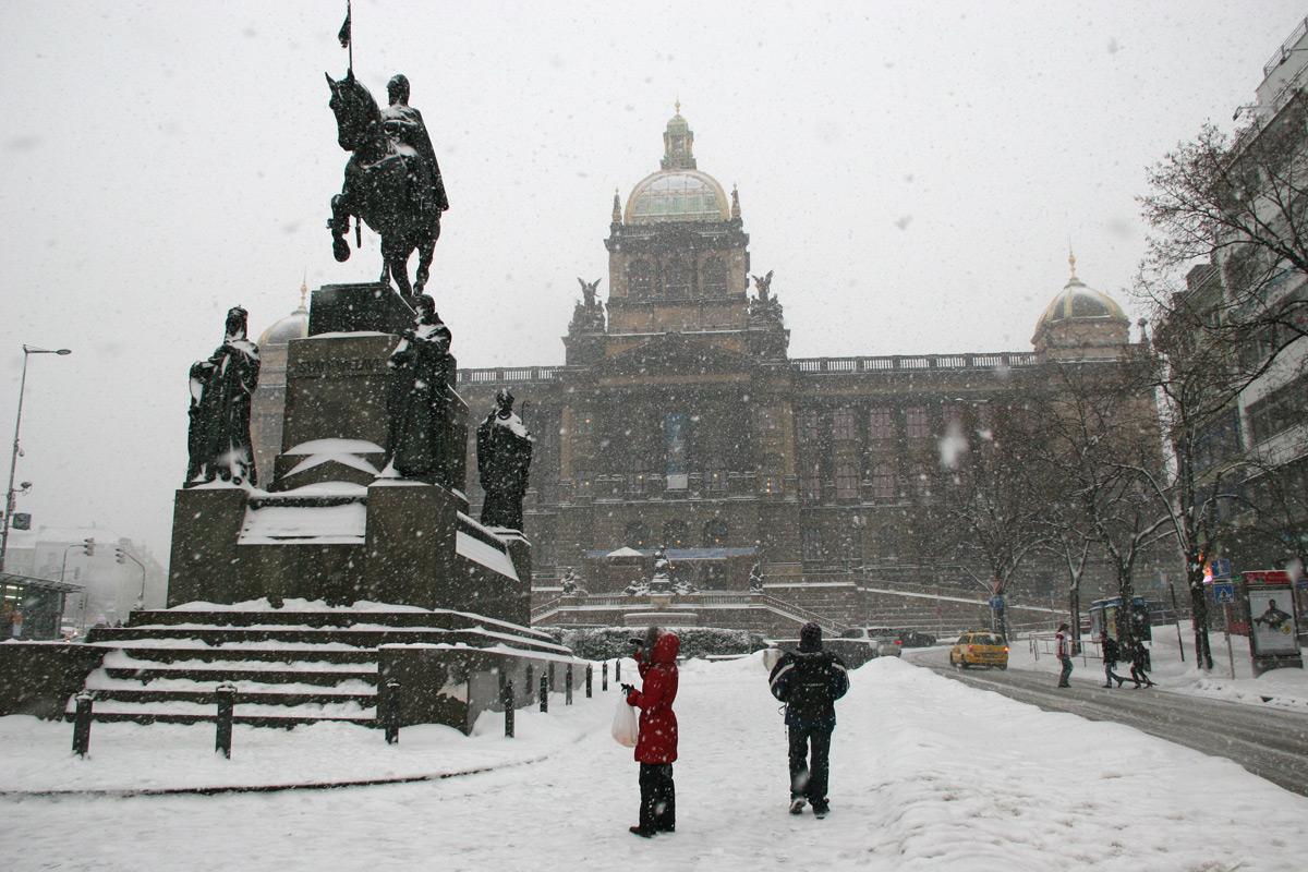 Прага зимой: отдых и погода