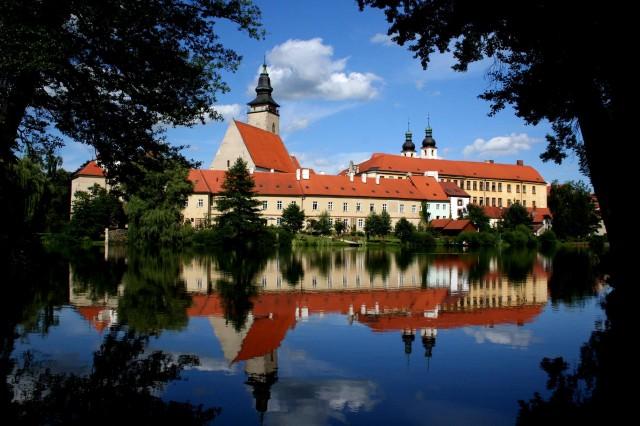 Город Тельч в Чехии