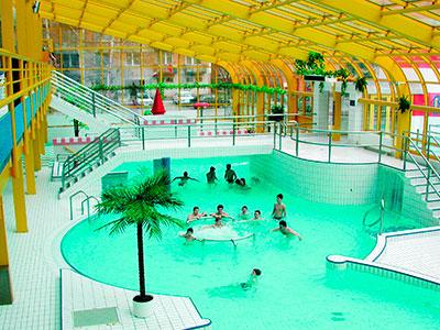 Самые популярные аквапарки Чехии