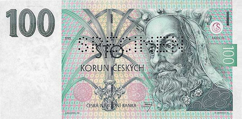 Czech money