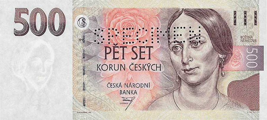 Czech exchange rate