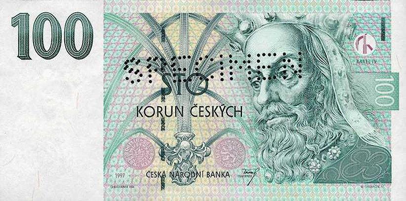 курс кроны чехии