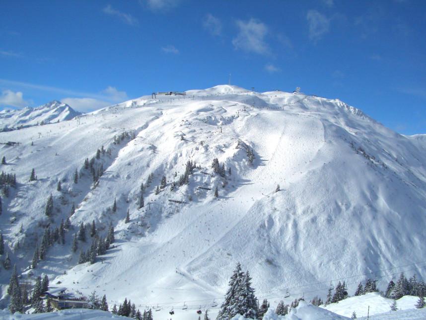 Лыжные трассы Санкт-Антон