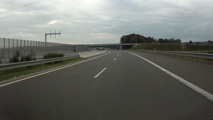 Трасса в Чехии