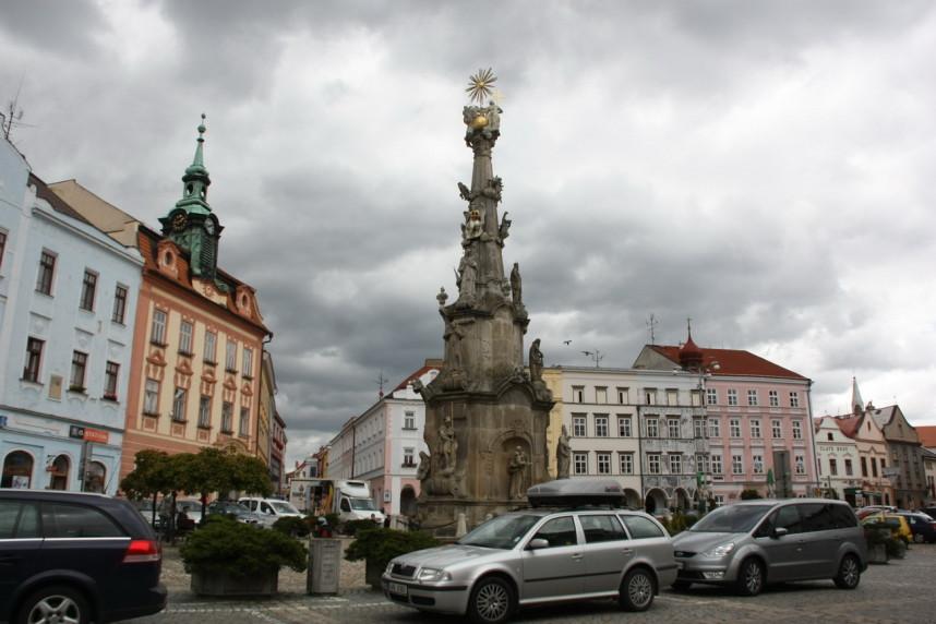 Площадь Йиндржихув-Градец