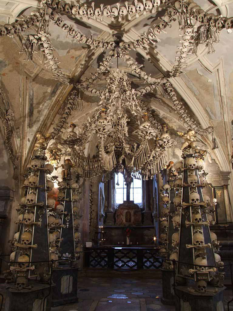 Костница в Чехии