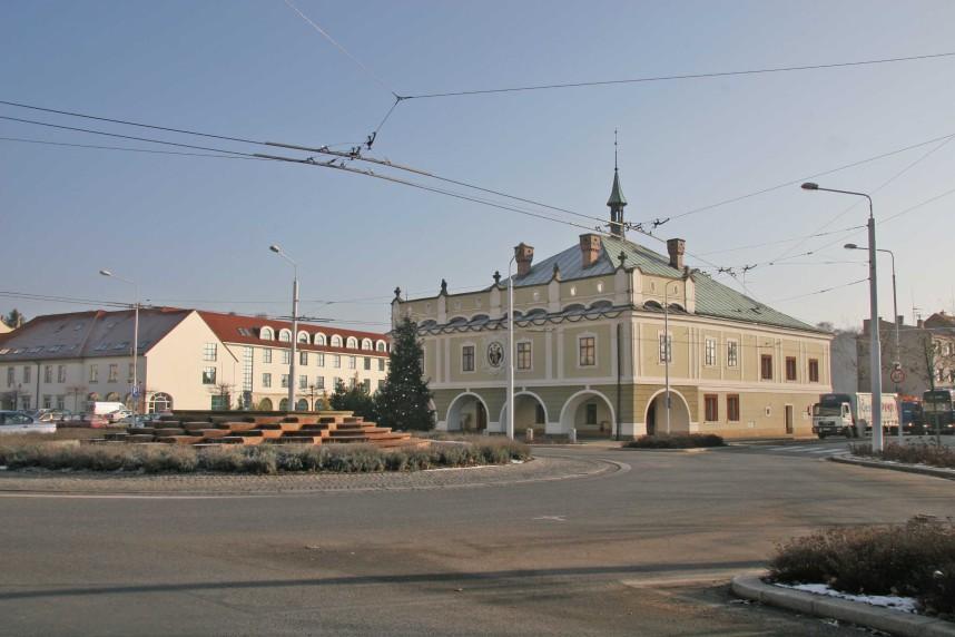 Ратуша и центральная площадь