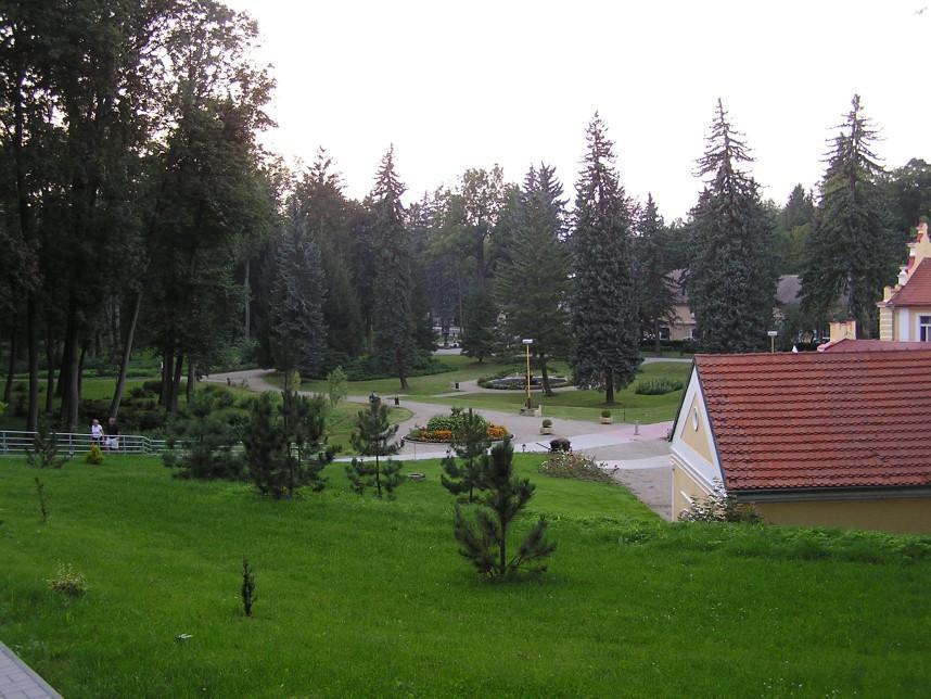 Парк, Мшене-Лазне