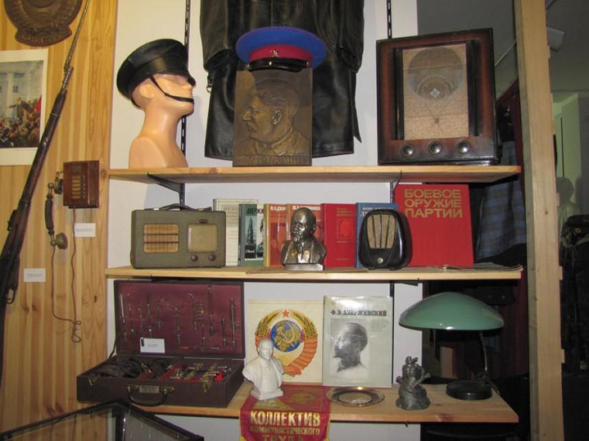 Коллекция музея КГБ