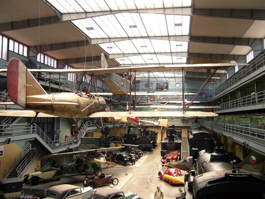 Выставка в Национальном техническом музее в Праге