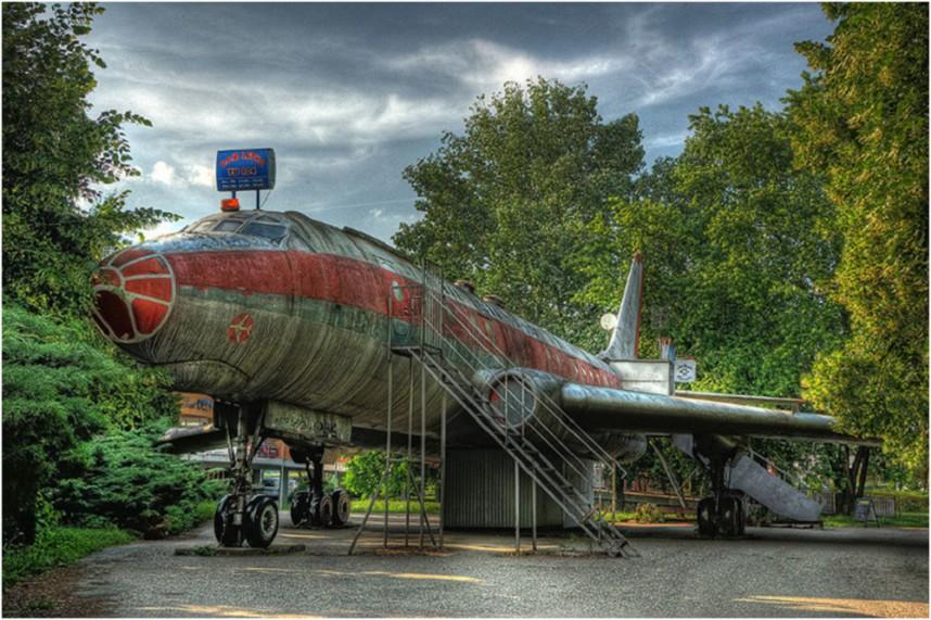 Бар-самолет, Оломоуц